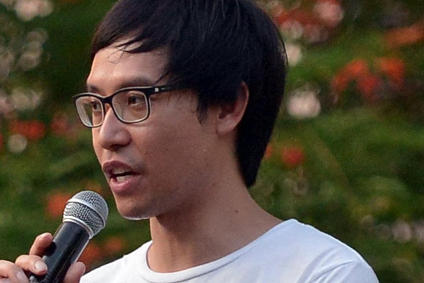Mr Ngerng made his online appeal last week for help in paying his legal fees.