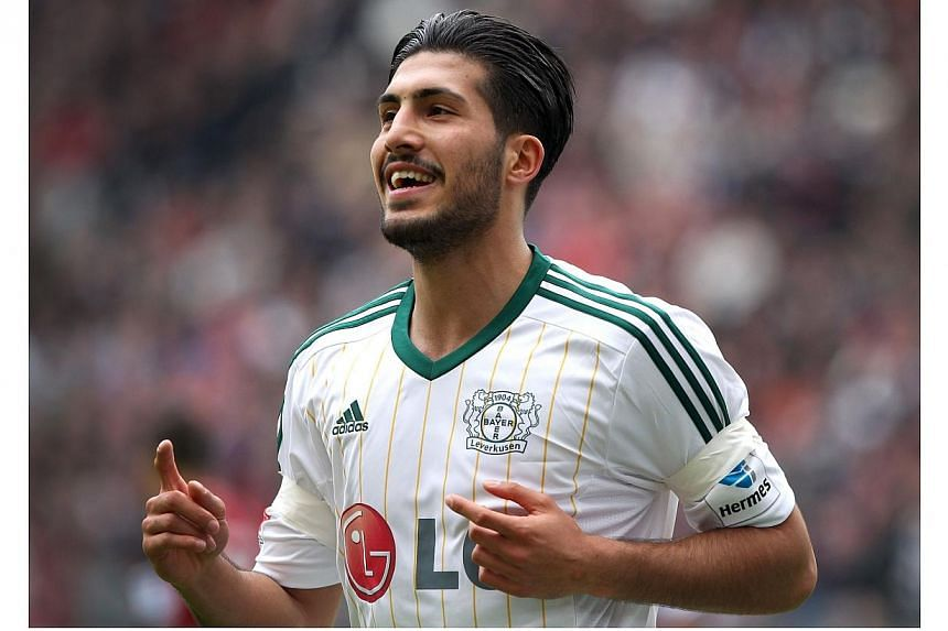 Liverpool have agreed a deal in principle to sign Bayer Leverkusen's Germany Under-21 midfielder Emre Can, the Premier League runners-up confirmed on Thursday, June 5, 2014. -- PHOTO: AFP