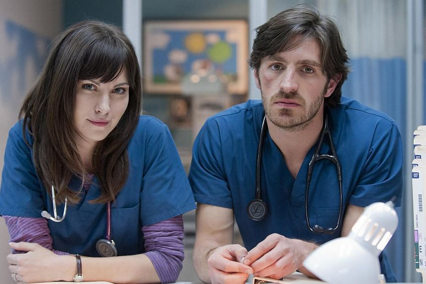 Eoin Macken (left, with co-star Jill Flint) on bringing levity into the medical drama series The Night Shift. -- PHOTO: SONY ENTERTAINMENT TELEVISION