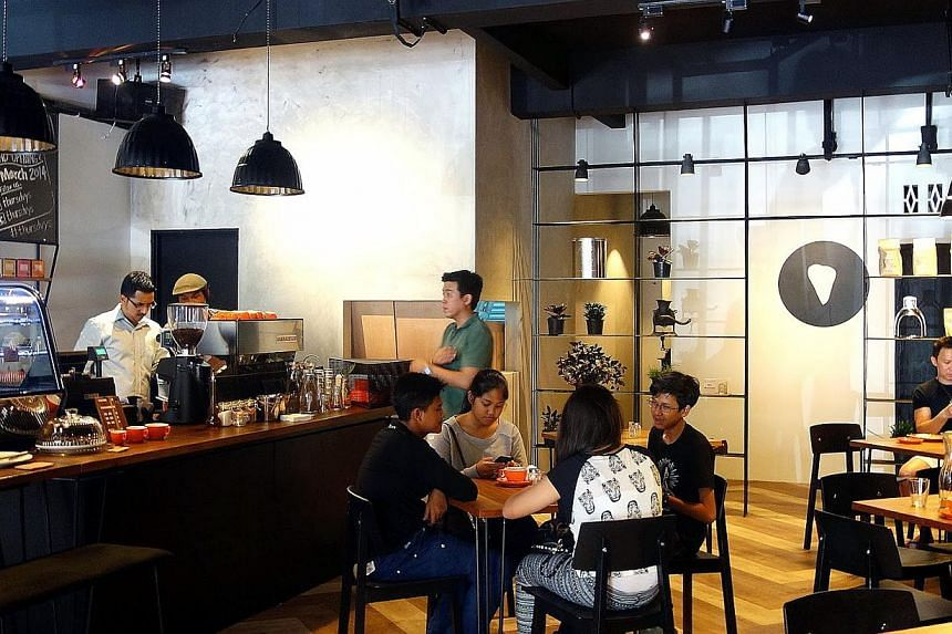 Chic cafes with an appeal to Malaysians in all shapes, forms and creed. -- PHOTO: SEAN YOONG