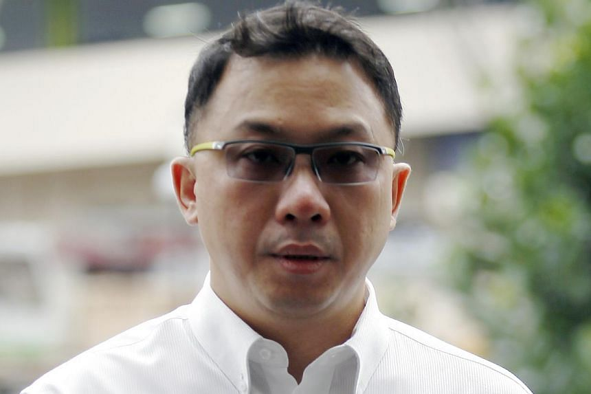 Delson Moo Hiang Kng, an IT consultancy firm operator, was fined $8,000 for hacking into the Istana website. -- ST PHOTO: WONG KWAI CHOW