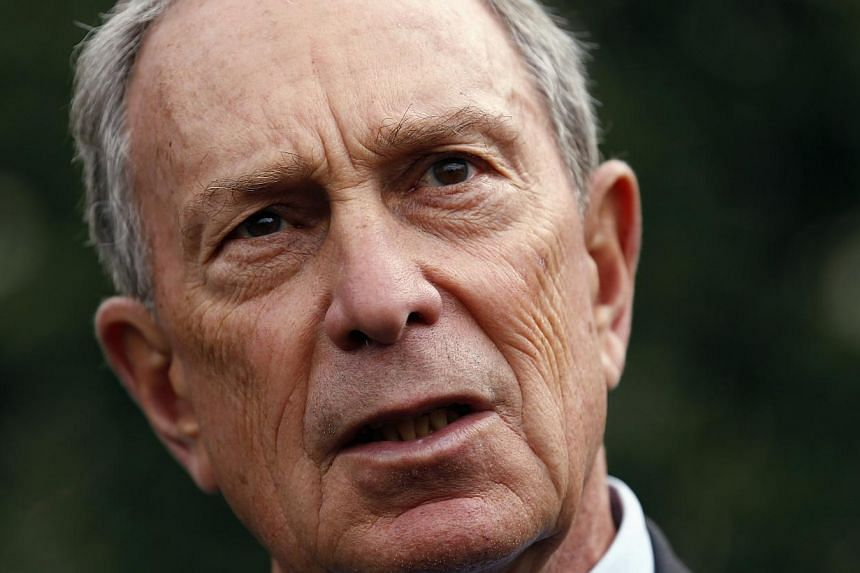 The regulation to limit the size of sodas and other sweet drinks, spearheaded by former mayor Michael Bloomberg (above) in May 2012, has been staunchly opposed by restaurants, movie theaters and soda makers. -- PHOTO: REUTERS