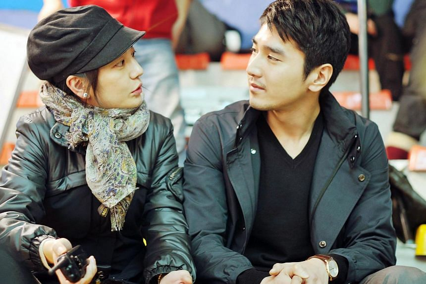 So Young director Vicki Zhao Wei (left) and star Mark Chao first met on the set of Taiwanese ensemble romantic comedy Love (2012), in which they played a couple. -- PHOTO: FESTIVE FILMS