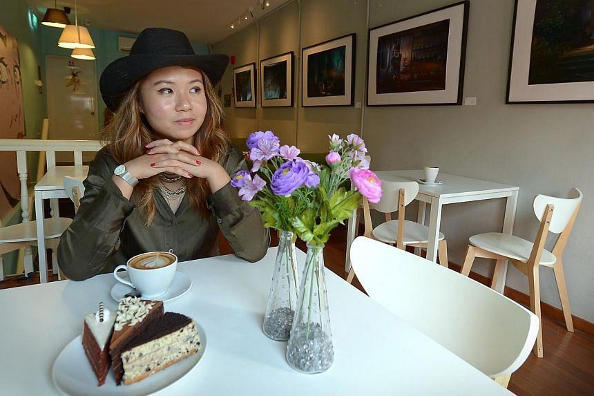Rachel Seah. --ST PHOTO: NG SOR LUAN