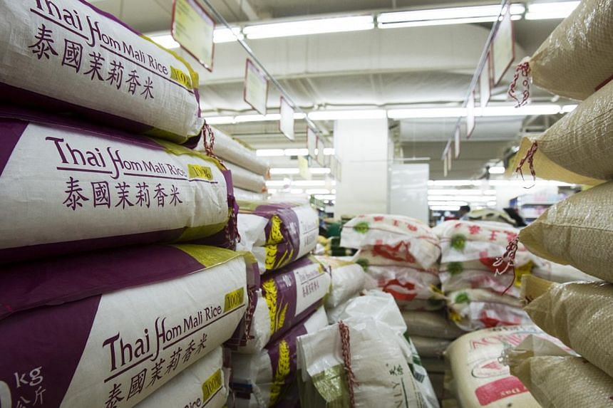 Thailand's Commerce Ministry said on Friday that prices of many consumer goods would be frozen for six months to November to hold down living costs and boost the economy and confidence. -- PHOTO: THE BUSINESS TIMES FILE