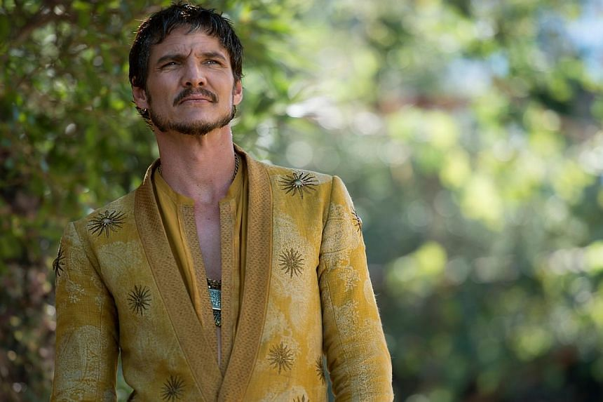 A television still from Game Of Thrones season 4 starring Pedro Pascal as Oberyn Martell. -- PHOTO: HBO ASIA