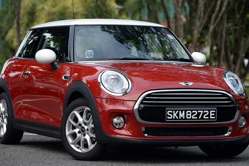 The new Mini Cooper is powered by a three-cylinder engine which is very punchy and sounds surprisingly soulful and textured.
