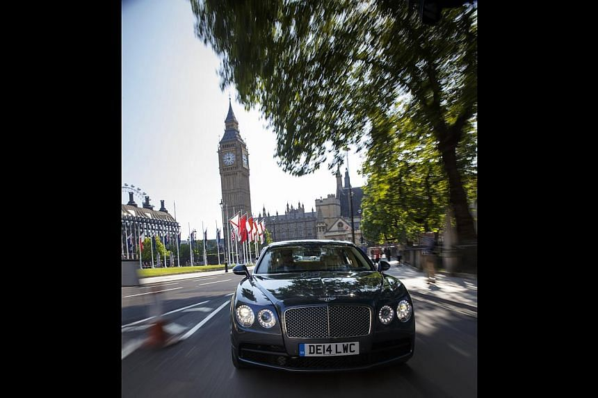 The Bentley Flying Spur V8 comes in seven standard colours but if none suits you, you can choose from more than 100 others.