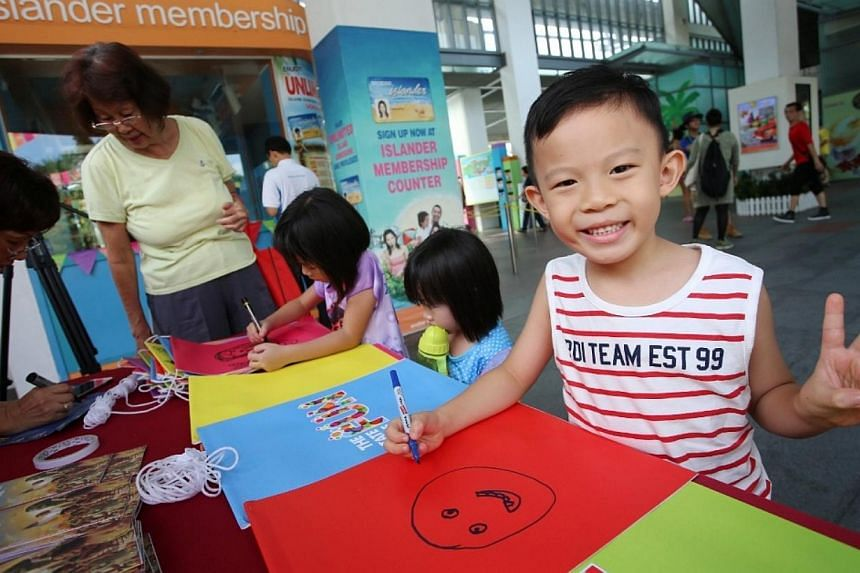 Smiles all around at Sentosa's State of FUN event on Saturday, June 7, 2014. -- PHOTO: SENTOSA ISLAND