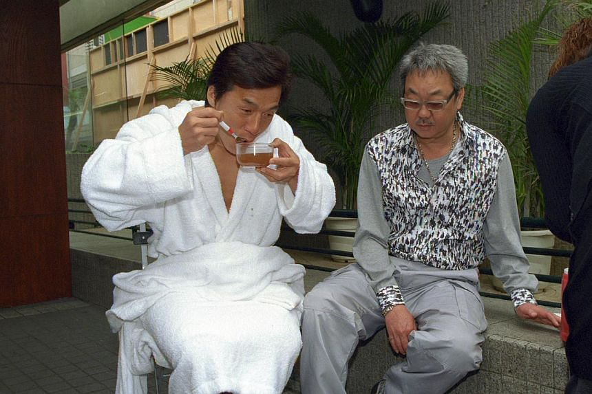 Jackie Chan and former manager Willie Chan.Jackie Chan's former manager Willie Chan has revealed that he ended their 38-year partnership after fame went to the action superstar's head. -- PHOTO:APPLE DAILY