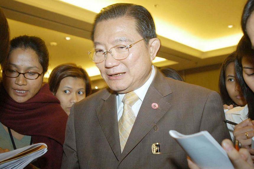 Thai tycoon Charoen Sirivadhanabhakdi. -- PHOTO: THE NATION / ASIA NEWS NETWORK