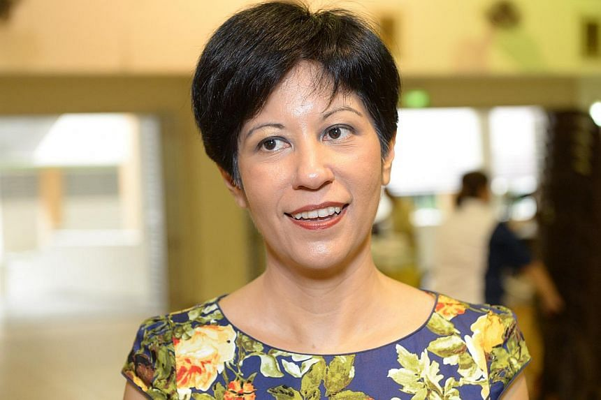 The Workers' Party is quick to claim credit and call for more, but hesitant to offer their own detailed proposals, said Senior Minister of State for Law and Education Indranee Rajah. -- ST PHOTO: DESMOND WEE