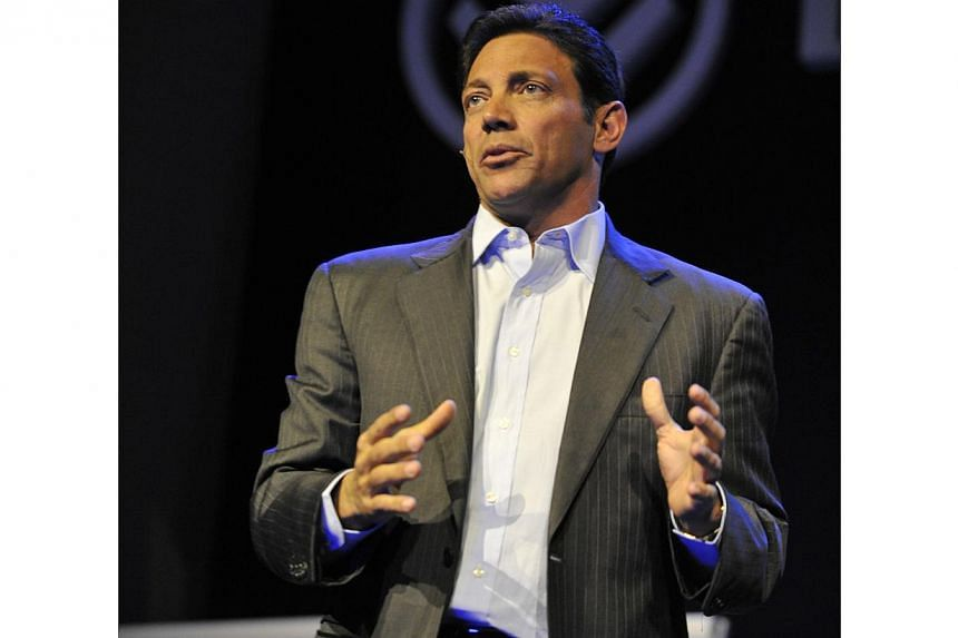 Jordan Belfort, the disgraced trader portrayed by American actor Leonardo DiCaprio in the film Wolf of Street, which is based on Belfort's own published memoirs. He now travels the world as a motivational speaker. -- PHOTO: FAST TRACK EVENTS