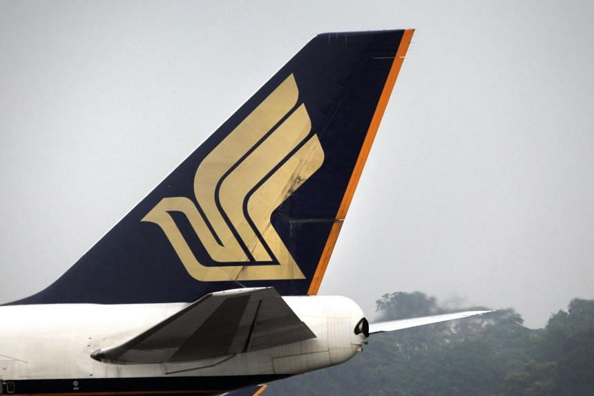 A Singapore Airlines flight was grounded on Monday, June 09, 2014 due to a white powdery substance found on board before takeoff. -- PHOTO: ST FILE