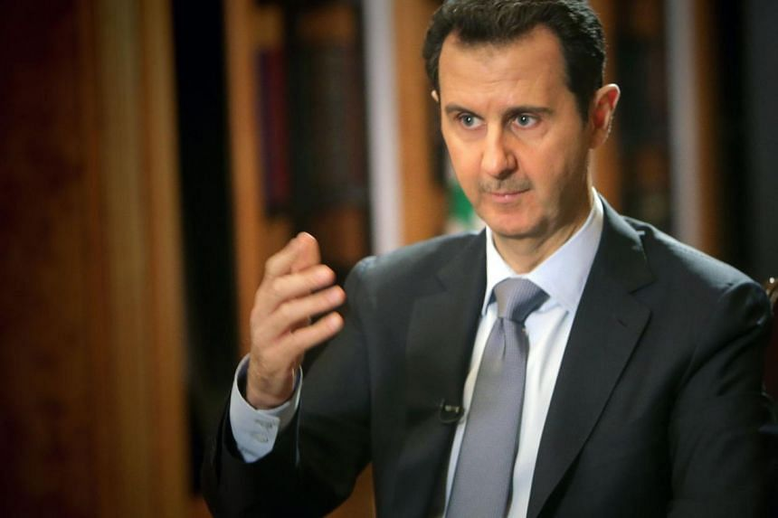 Syrian President Bashar al-Assad announced a wide-ranging amnesty on Monday, June 09, 2014, less than a week after he was re-elected to another seven-year term in the midst of civil war. -- PHOTO: AFP