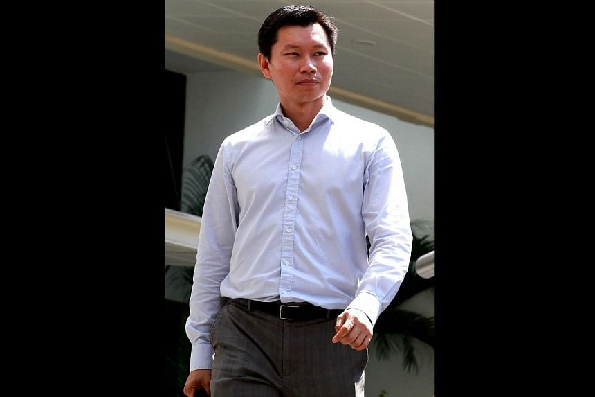 National Parks Board (NParks) officer Bernard Lim Yong Soon, convicted of lying to auditors over his relationship with a bicycle firm's director, was on Tuesday, June 10, 2014, given the maximum $5,000 fine for the offence. -- ST PHOTO: LAU
