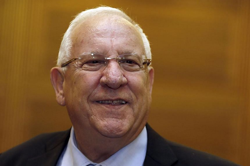 Mr Reuven Rivlin, a far-right member of Israel's ruling Likud, was on Tuesday, June 10, 2014, elected by Parliament to be the nation's 10th president when President Shimon Peres steps down in July, the speaker said. -- PHOTO: AFP