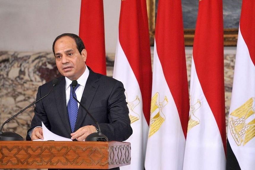 Egyptian President Abdel Fattah al-Sisi has ordered the interior minister to fight sexual harassment following the arrest of seven men for attacking women near Cairo's Tahrir Square during his inauguration celebrations, his office said on Tuesday, Ju