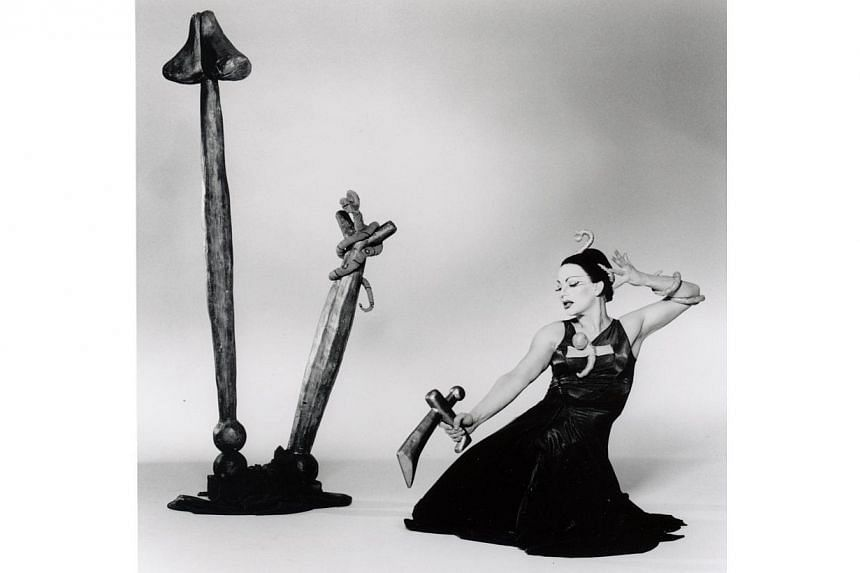 American dancer-choreographer Richard Move has played the legendary Martha Graham on film as well as in live performance. - PHOTO: COURTESY OF ANDREW HETHERINGTON