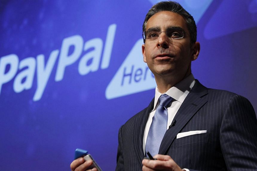 David Marcus, who has led eBay Inc's fast-growing payments unit PayPal for the past two years, will step down this month to run Facebook Inc's messaging products, the companies announced on Monday. -- PHOTO: AFP