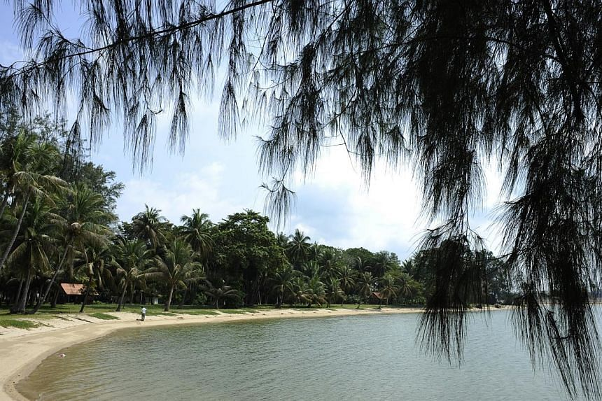 A scenic view of Pulau Hantu, located to the south of Singapore. -- PHOTO: ST FILE
