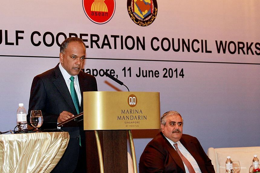 The Ministry of Foreign Affairs is holding its annual ASEAN-Gulf Cooperation Council (GCC) Workshop , which will be jointly opened by Minister for Foreign Affairs and Minister for Law K Shanmugam and the Foreign Minister of the Kingdom of Bahrain Sha