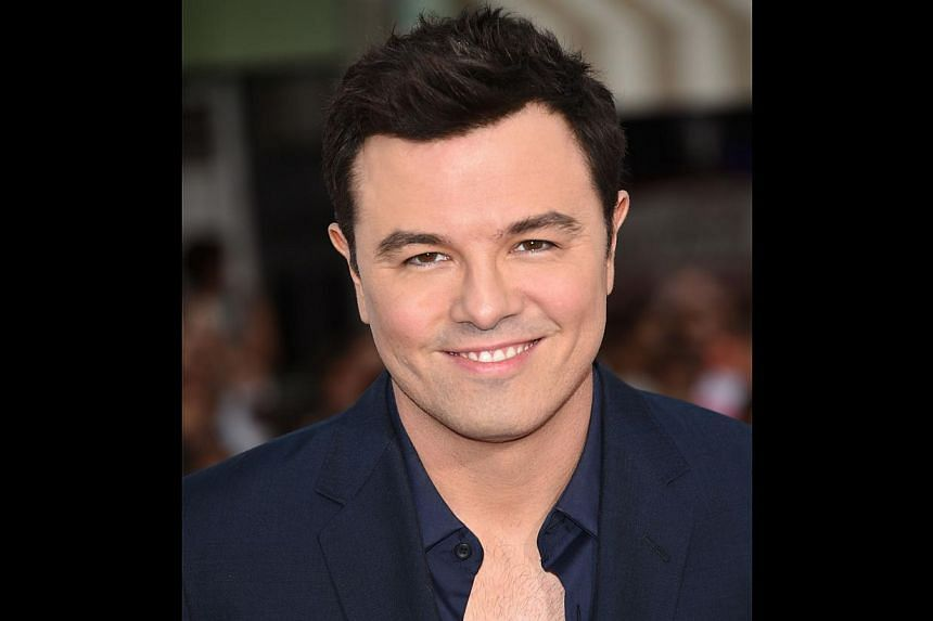 Writer-director Seth MacFarlane (above), who was behind the 2012 movie Ted (left, with actor Mark Wahlberg), helms the western, A Million Ways To Die In The West.