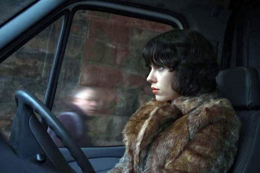 Scarlett Johansson pulls off a sensitive, sympathetic performance as a being who slips into the skin of a sexy woman. -- PHOTO: GOLDEN VILLAGE