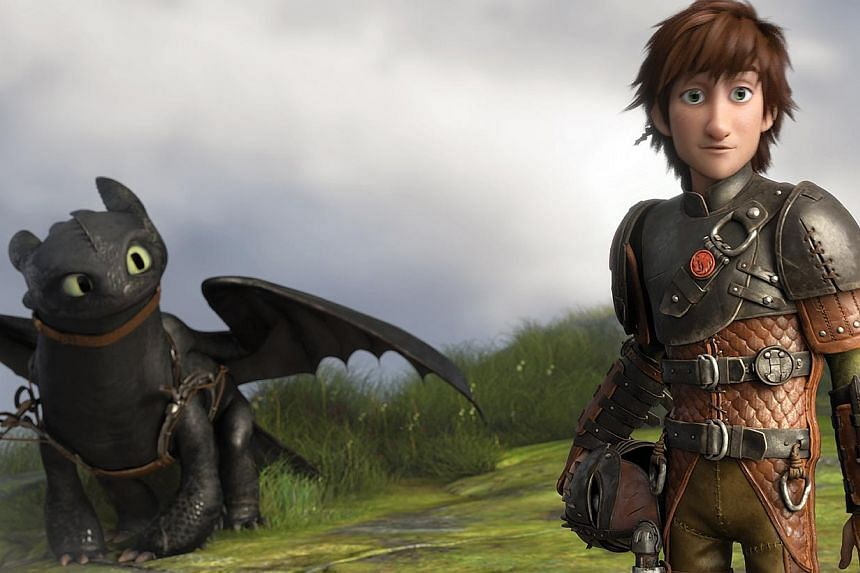 The special emotional bond Hiccup has with his dragon Toothless is stronger than ever in the sequel. -- PHOTO: TWENTIETH CENTURY FOX