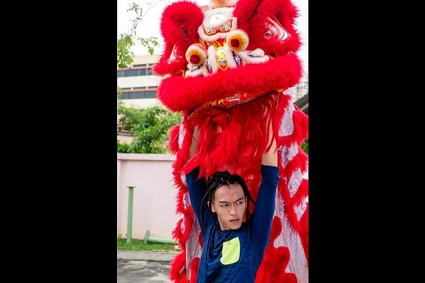 Tosh Zhang (left) plays Supreme, who leaves the traditional Tiger Crane dance troupe for the hip-hop-inspired Storm Riders, in The Lion Men: Ultimate Showdown. In The Lion Men: Ultimate Showdown, Wang Weiliang and Eva Cheng (both above) are caught in