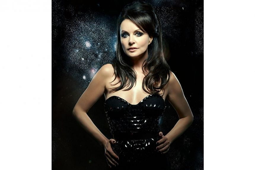 British singer Sarah Brightman is scheduled to begin training this year for a 2015 flight to the International Space Station where she hopes to become the first professional musician to sing from space, the company arranging the trip said on Tuesday.