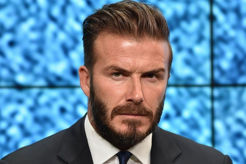 Former England football player David Beckham attends an event to launch the United for Wildlife campaign on June 9, 2014. Beckham's bid for a Major League Soccer team suffered a setback on Tuesday when the city of Miami rejected his plan to build a d