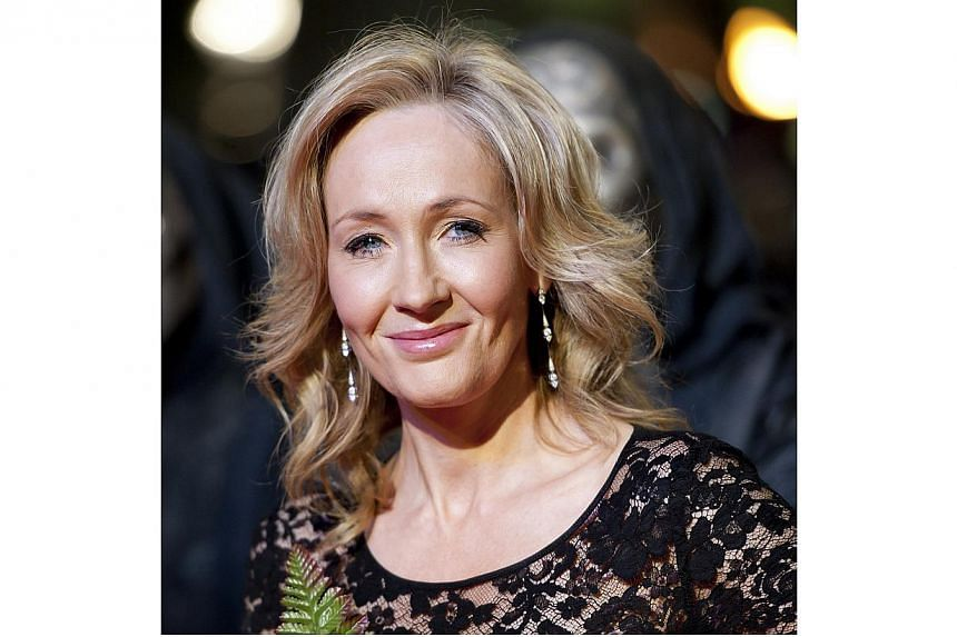 J.K. Rowling, has donated 1 million pounds (S$2.09 million) to the campaign against Scottish independence, saying she believed Scotland was better off staying in the United Kingdom. -- PHOTO:LANDOV