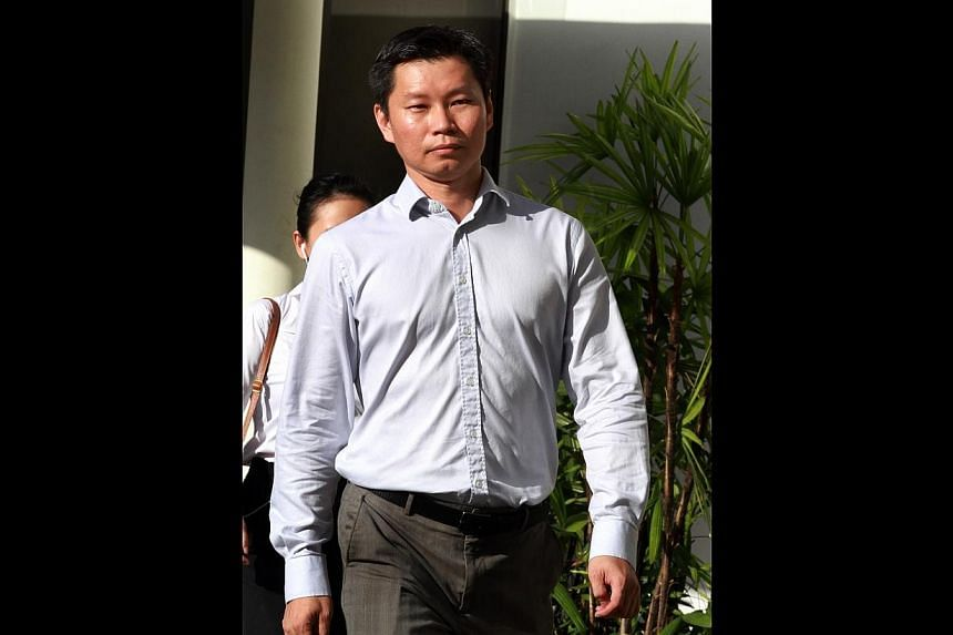 Former National Parks Board (NParks) assistant director Bernard Lim Yong Soon leaving the State Courts on June 10, 2014.Former National Parks Board (NParks) officer Bernard Lim Yong Soon is appealing his May 29 conviction for lying to the Minis