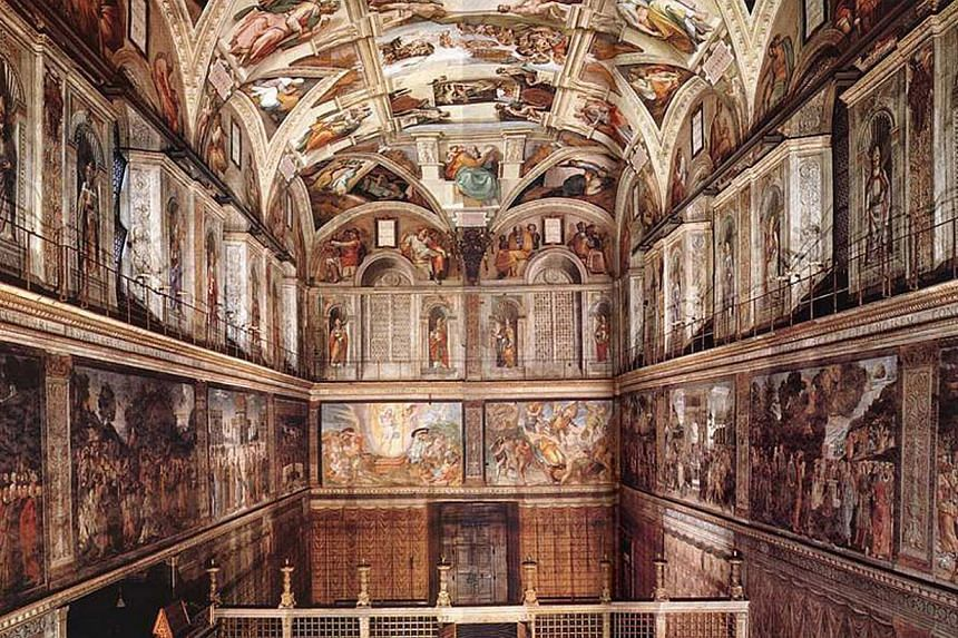 The Sistine Chapel is the best-known chapel of the Apostolic Palace, the official residence of the Pope in the Vatican City. -- PHOTO:CTC TRAVEL