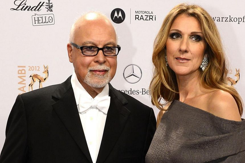 Canadian songstress Celine Dion has appointed a new manager, as her husband Rene Angelil steps down from the position he has held for more than 30 years. -- PHOTO: AFP