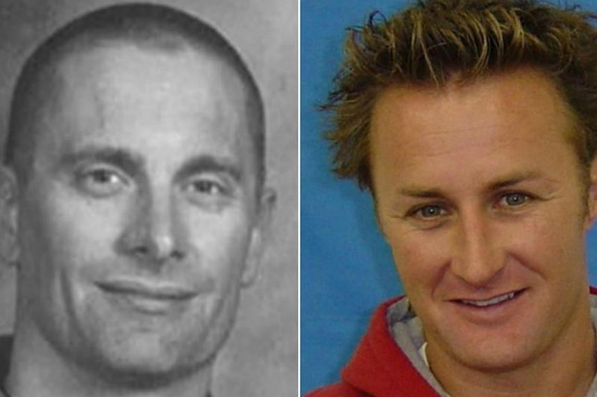 Americans-at-large Robert William Fisher (L) and Jason Derek Brown are on the FBI's 10 Most Wanted list after killing in cold-blood. -- PHOTO: FBI