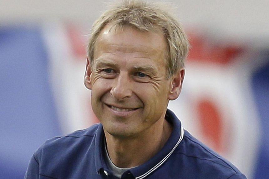 Jurgen Klinsmann. -- PHOTO: AGENCE FRANCEPRESSE