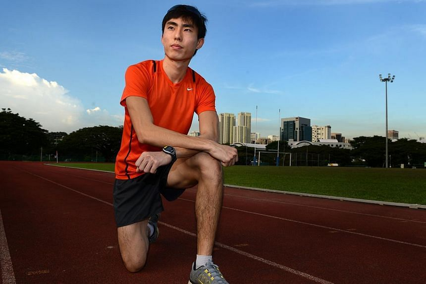 National long-distance runner Soh Rui Yong has set a new national record in the 10,000m event at the Portland Track Festival on Saturday (United States time) with a time of 31min 15.95sec, just a shade under the old mark of 31:19. -- PHOTO: ST FILE