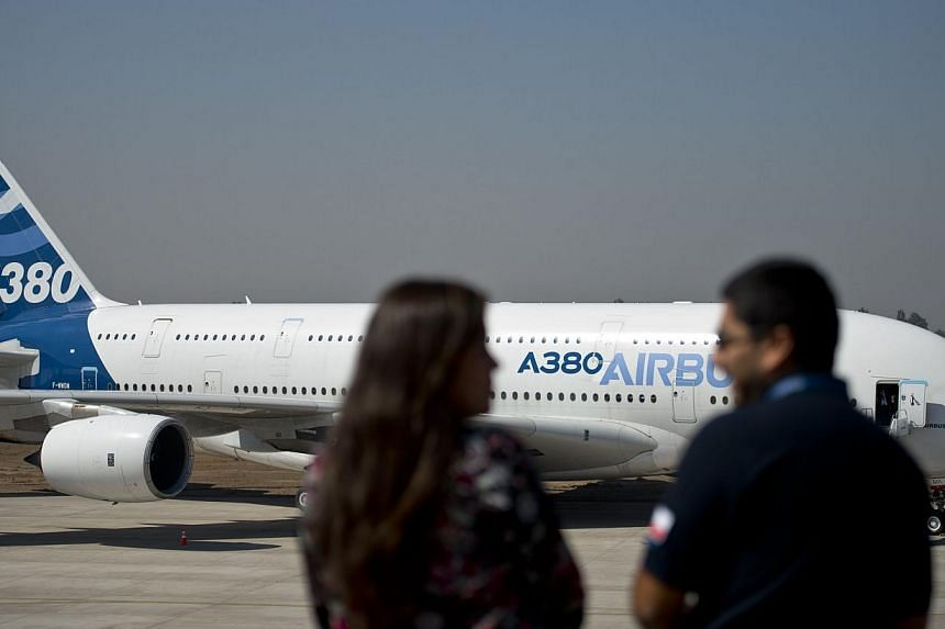 Delivery of the first three Airbus A380 superjumbos to Qatar Airways has hit a further delay of several weeks due to unresolved cabin issues, the airline's chief executive said. -- PHOTO: AFP
