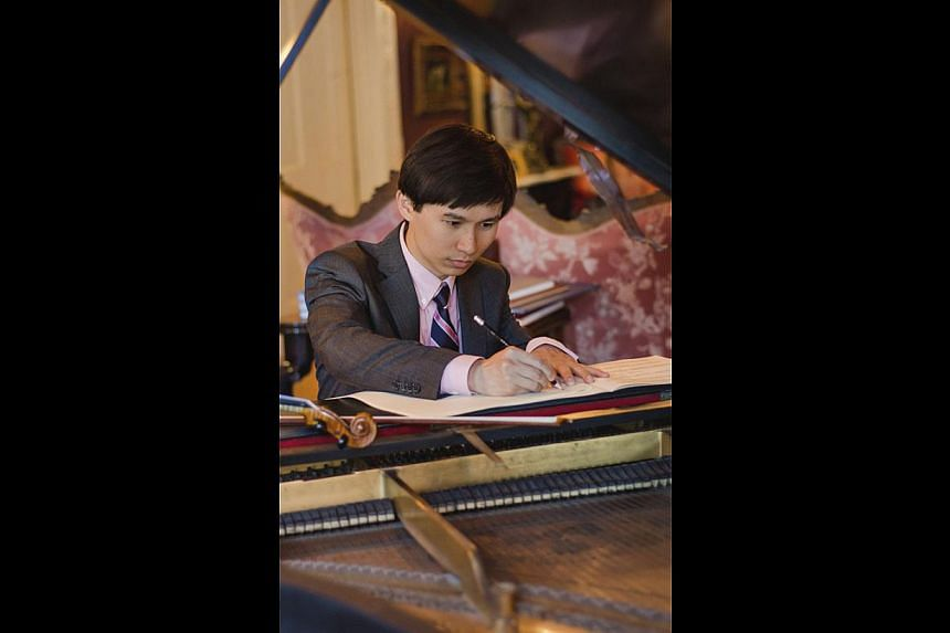 Chen Zhangyi. -- PHOTO: COURTESY CHEN ZHANGYI