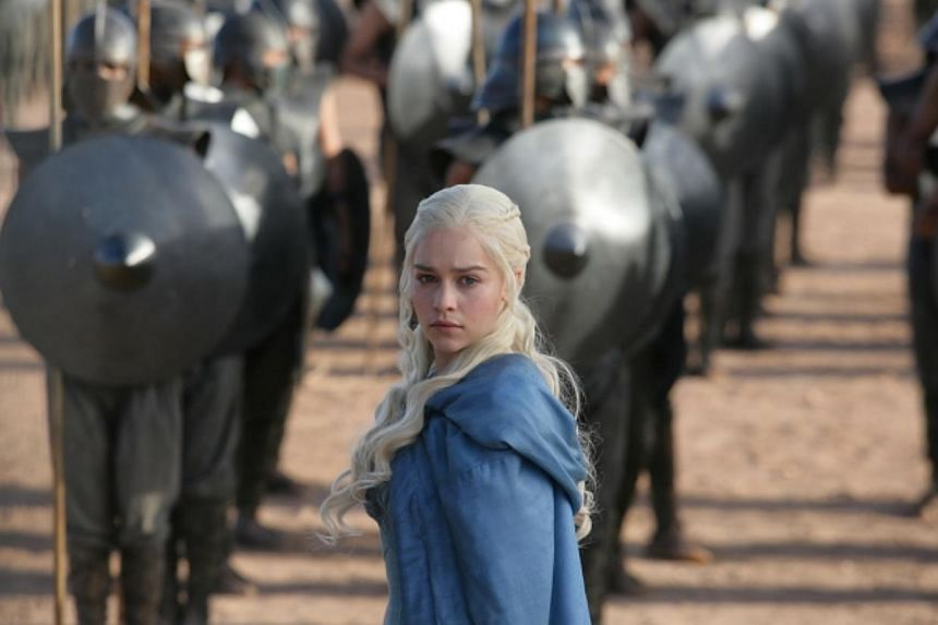 Television still: Game of Thrones starring Emilia Clarke. -- PHOTO: HBO ASIA