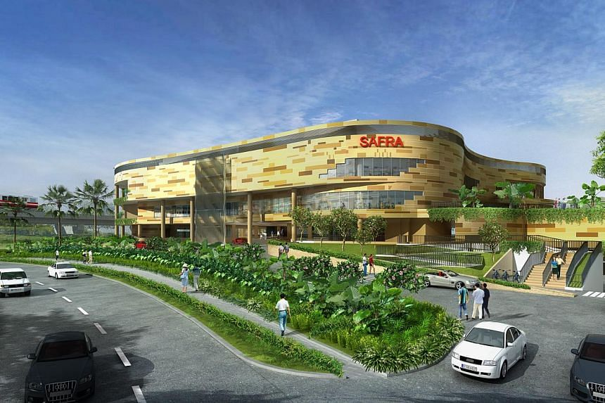 An artist's impression of the upcoming Safra Club near the Punggol Waterway. -- PHOTO: SAFRA