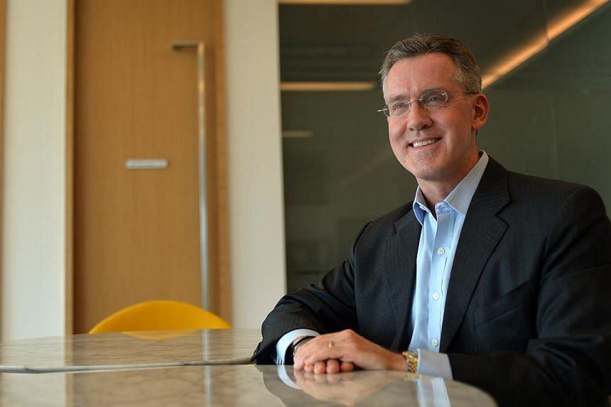 Mr Steve Leonard, Executive Deputy Chairman at the Infocomm Development Authority of Singapore. -- ST PHOTO: FILE