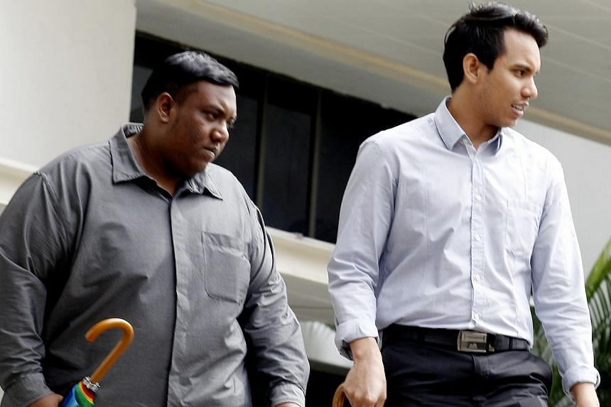 Former National Environmental Agency officer Muhammad Alhaffif Mohamad Saifuddin (left), 28, was sentenced to 2 weeks' jail and his brother Muhammad Ramadan Mohamad Saifuddin, 25, was fined $1,000 for the tip-off that a surprise inspection would take