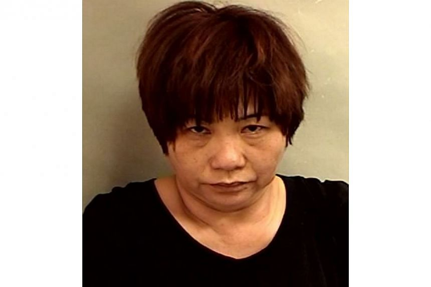 Li Lianyingwho was convicted on June 19, 2014, for a duration of four years and 10 months.-- PHOTO: SINGAPORE POLICE FORCE