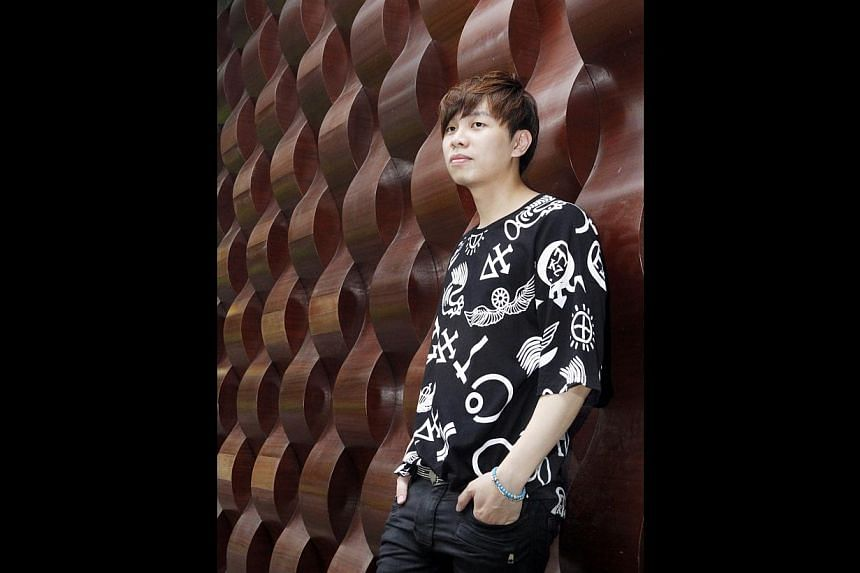 Songwriter Gen Neo (above), who met Super Junior-M's Henry in Boston, has also written songs for girl group f(x) and Super Junior members Donghae and Eunhyuk. -- PHOTO: ZAOBAO FILE
