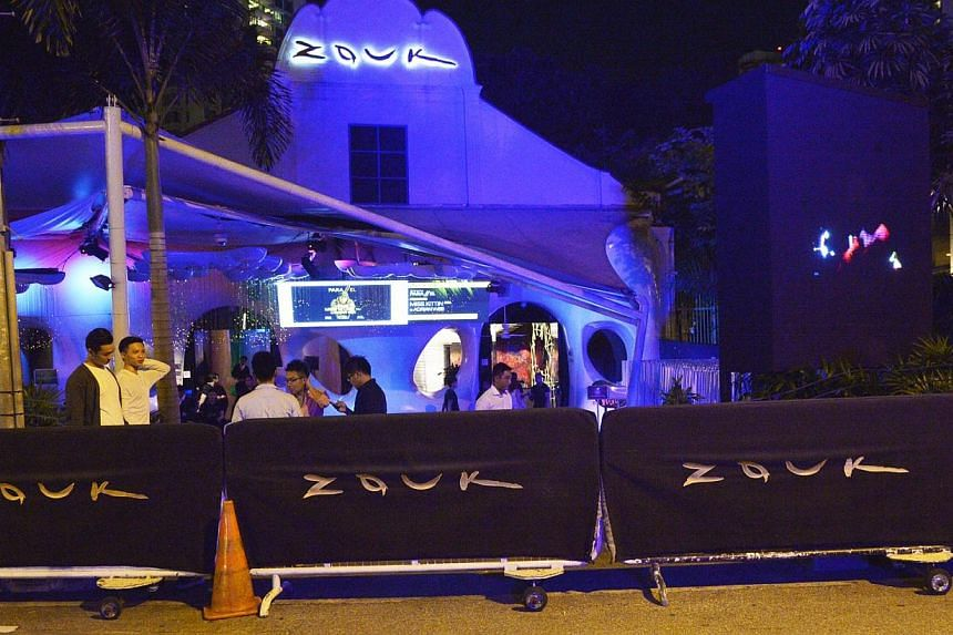 CLUB'S EFFORTS: Zouk said it has various measures in place to reduce noise from the club and patrons outside its premises.