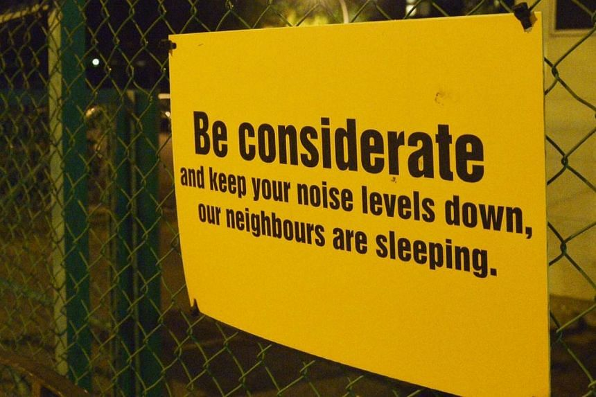 CLUB'S EFFORTS: Zouk said it has various measures in place to reduce noise from the club and patrons outside its premises. -- ST PHOTOS: DESMOND WEE