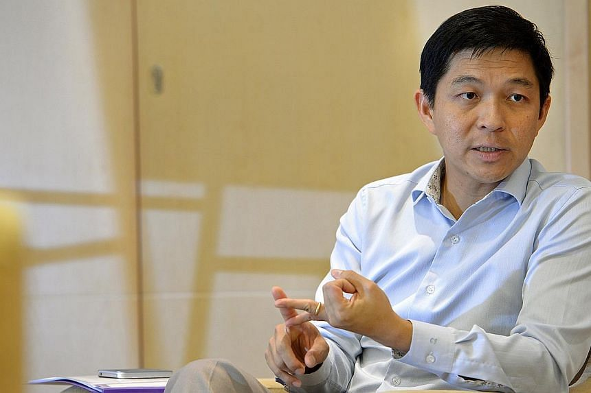 Manpower Minister Tan Chuan-Jin has weighed in on the removal of the vicious blog targeting the Filipino population in Singapore. -- PHOTO: ST FILE